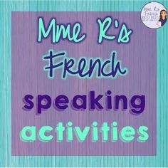 How to keep students talking in the target language - tips and resources for French class. Click here to read more and get FREE sentence starters for French intermediate and advanced conversation!