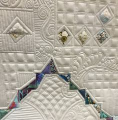 Krista Withers Quilting: Quilts for Sale Quilting Stitch Patterns, Machine Quilting Patterns, Quilting Templates, Longarm Quilting, Free Motion Quilting, Quilt Patterns, Quilting Ideas, Fiber Art Quilts, Quilt Modernen