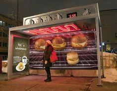 Les Abribus, supports privilégiés du Street Marketing ! (1/5)