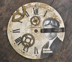 horloge cassée