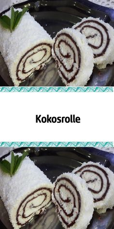 Coconut roll - Kuchen - Healt and fitness Healthy Muffins, Healthy Desserts, Coconut Cake Decoration, Coconut Buns, White Cranberry Juice, Chocolate Hazelnut Cake, Dessert Blog, Different Cakes, Calories