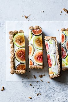 Ginger Fig Tart with