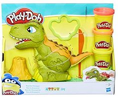 Play Doh, ciastolina T-Rex, zestaw, Play Doh, Toys R Us, Kids Toys, Modeling Dough, Dinosaur Eggs, Cheap Toys, Toys Online, Toys Shop, T Rex