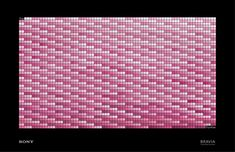 The pink panther - Sony color like no other #advertising #artdirection