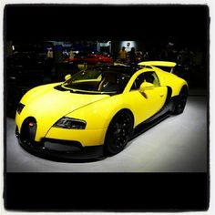 Imagine if you work up to this beauty on your drive!- Bugatti Veyron