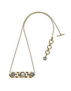 THE ORIENT EXPRESS COLLECTION  Pearl of Siberia Opalescent glass and Swarovski crystal chain necklace  Fall/Winter Collection. Made in Italy  Available now for pre-order.  Shipment in October