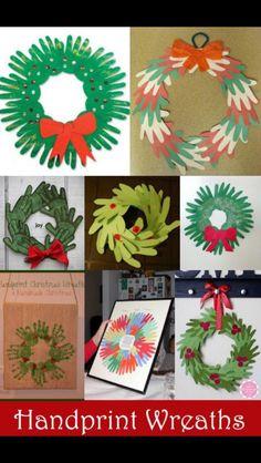 Christmas wreath craft ideas