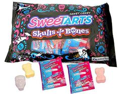 Nestle SweeTARTS Skulls and Bones (24 count/pack) Pack of…