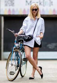 There's no need to overthink your outfits during the summer // #StreetStyle