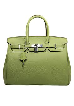 Image of Baginc The Essential Jane Bag Leather Green