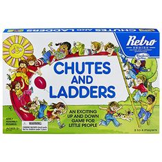 Chutes and Ladders Game: Retro Series 1978 Edition -- More info could be found at the image url. (This is an affiliate link and I receive a commission for the sales) #Games