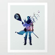 Dream Fisherman Art Print by ChrisAbles - $16.00