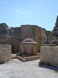 The Dome at Kyrenia Castle #NorthernCyprus Contact Lisa@Livefortravel.co.uk to plan and book your place to this and other amazing destinations. Or join on www.facebook.com/Livefortravel.co.uk
