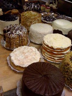Rosine's Pumpkin Cheesecake, Lemon Cream Cheese Cake and more!