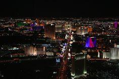 Plano con la ubicación de los casinos en Las Vegas (que en realidad no están en Las Vegas)