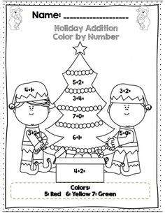Printables 1st Grade Christmas Math Coloring Worksheets color by number math worksheet gingerbread man first grade holiday addition page part of 20 1st common core aligned math