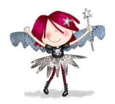 Helen Poole Punk fairy - LOVE!!
