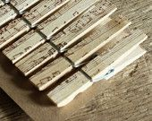 great idea... stamped clothespins