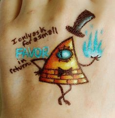 """Bill Cypher Tattoo - """"I only asl for a small favor in return"""".<<WOW like I love this show like almost 2 much I know no such thing as 2 much but I would,t get bill tattooed on me"""