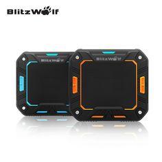 BlitzWolf Original BW-F2 IP65 2000mAh Portable Mini Water-resistant Outdoor Hand-free Wireless Bluetooth Speaker For Smartphone