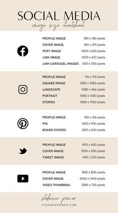 2019 Social Media Image Size Guide - Rissu Tutorial and Ideas Social Media Instagram, Tips Instagram, Instagram Marketing, Facebook E Instagram, Free Instagram, Instagram Story, Instagram Money, Instagram Images, Social Media Branding