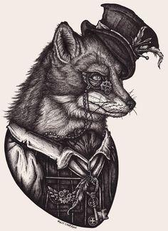 Steampunk Fox!