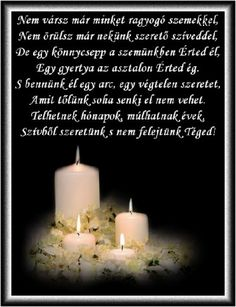 gyertya In Loving Memory, Holidays And Events, Grief, Pillar Candles, Memories, Inspiration, Quotes, Advent, Google