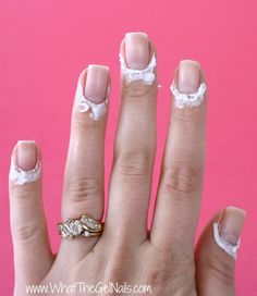 Tips and Tricks for Gel Polish Beginners. Put lotion on cuticles before a gel polish manicure so polish doesn't get on cuticles.