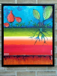 Acrylic Painting - birgit koopsen