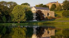 Serene view of Colgate University. A private university located in Hamilton, New York.  This is where Aaron went to college.