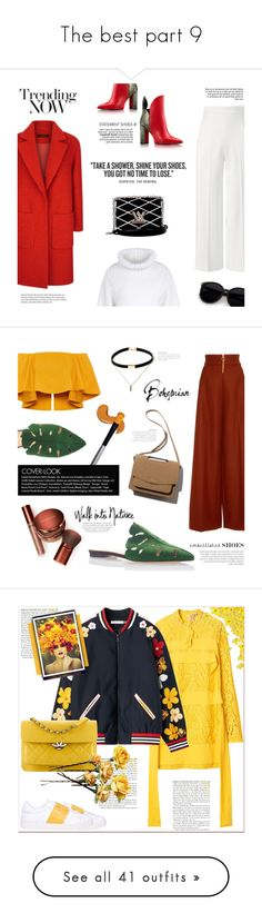 """""""The best part 9"""" by erindream ❤ liked on Polyvore featuring STELLA McCARTNEY, Jaeger, Louis Vuitton, Roland Mouret, Charlotte Olympia, Ryan Roche, Bare Escentuals, Valentino, Chanel and Zimmermann"""