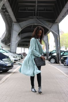 Mint Trenchcoat