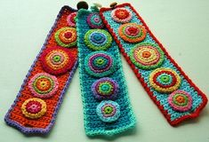 Amazing+crochet | Crochet Cuffs - amazing! | crochet jewelry