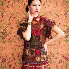 Noro Butterfly Sleeve Dress PDF at WEBS | Yarn.com $6