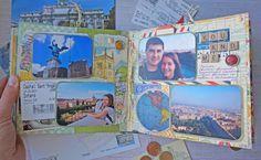 Travel mini-album #BoBunny@Souvenir