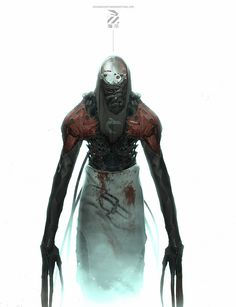 Creepy characters by Nivanh Chanthara | Sci-Fi | 2D | CGSociety