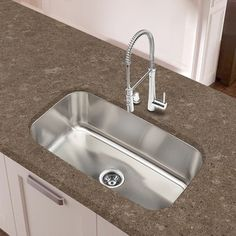 Designer Collection 16 Gauge Extra Large Single Bowl Sink (Designer  Collection XL Single   16 Gauge), Silver