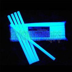 UV Reactive Webbing Sticks! Glow in the dark SPIDER WEBS! FrightProps.com