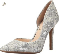Jessica Simpson Women's Claudette D'Orsay Pump (7.5, Fairy) - Jessica simpson pumps for women (*Amazon Partner-Link)