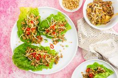 This delicious Pork San Choy Bow recipe has all of the taste of the traditional Chinese dish, and it is really easy to make! You might know these as Asian lettuce cups, or as Chinese lettuce wraps — but whatever you know them as, I'm sure you'll agree they are delicious!   Making healthy versions of takeaway favourites is fantastic as you can still get all the flavour you love. These Caribbean Chicken Tacos are another great example of how to enjoy the meals you love while still working…