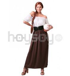 #Disfraz de #posadera que Incluye: vestido y corsé #Disfraces #Carnaval #Teatro
