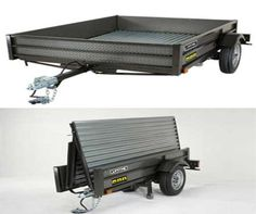 Lifetime 5 x 6 Fold-Up Utility Trailer -- Folds in 90 seconds to 29 inches Wide, image 1 $999