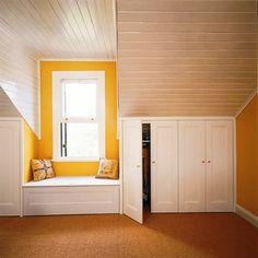 Loft dormer space