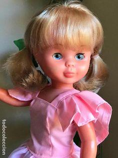 ESPECTACULAR NANCY FAMOSA DEL 72 DE COMUNIÓN FLEQUILLO COMO NUEVA!! - Foto 1 Nancy Doll, Vintage Dolls, Couture, Creativity, Baby Dolls, Vestidos, Stitching, Wings, Fashion For Girls