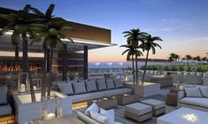 1SOBE Luxury Hotel in Miami Roof Top Lounge // first natural hotel