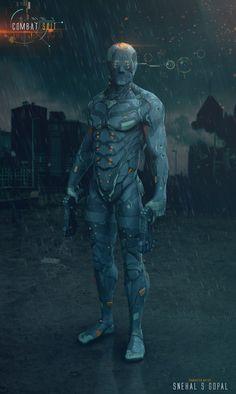 Combat Suit, Snehal S Gopal on ArtStation at https://www.artstation.com/artwork/gGVym
