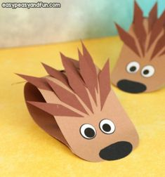 Fall Crafts For Kids - Art and Craft Ideas Fall Arts And Crafts, Easy Fall Crafts, Spring Crafts For Kids, Paper Crafts For Kids, Crafts For Kids To Make, Paper Crafting, Art For Kids, Eid Crafts, Boat Crafts
