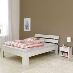 e-combuy Angebote Schlafzimmer Bettanlage »MIEKA154« Kernbuche massiv white wash: Category: Futonbetten Item number:…%#Quickberater%