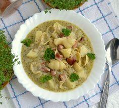 Gotuj z Cukiereczkiem: Zupa z pesto