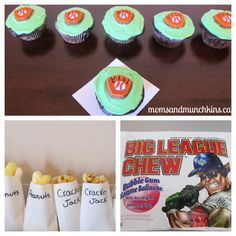 Fun baseball party ideas perfect for a family barbeque, family reunion activity or a baseball themed birthday party.
